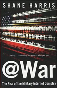 book cover of @War by Shane Harris