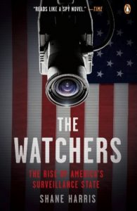 Book cover of The Watchers by Shane Harris