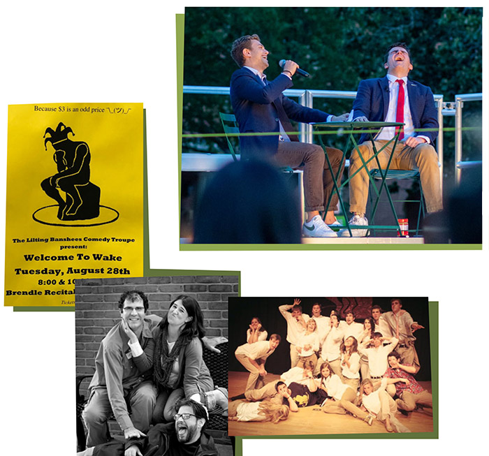 Images of Lilting Banshees, Wake Forest's student-run comedy troupe
