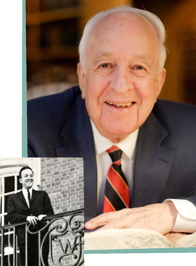 Ed Wilson ('43, P '91, '93), Provost Emeritus at Wake Forest