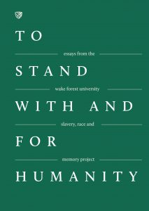 Cover of the publication called To Stand With And For Humanity
