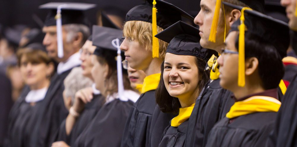 Wake Forest University holds its annual Commencement ceremony in the Lawrence Joel Veterans Memorial Coliseum on Monday, May 17, 2010.