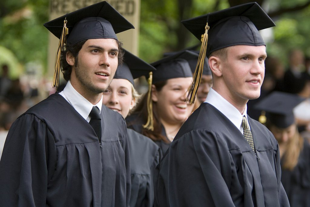 Wake Forest University Commencement exercises 2006.