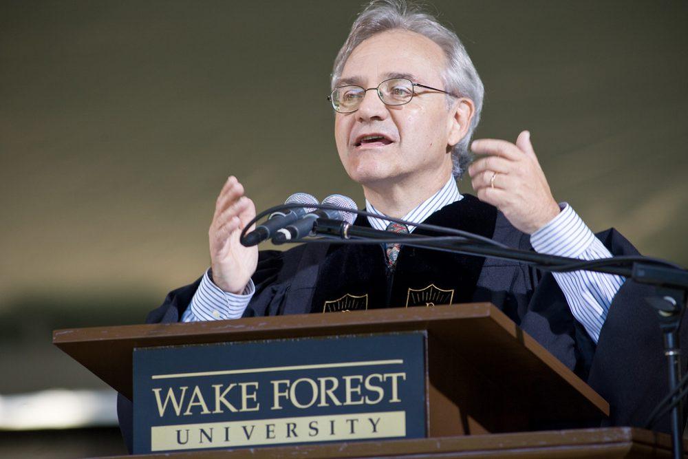 Commencement News Archive | 2008: Speaker E J  Dionne Jr