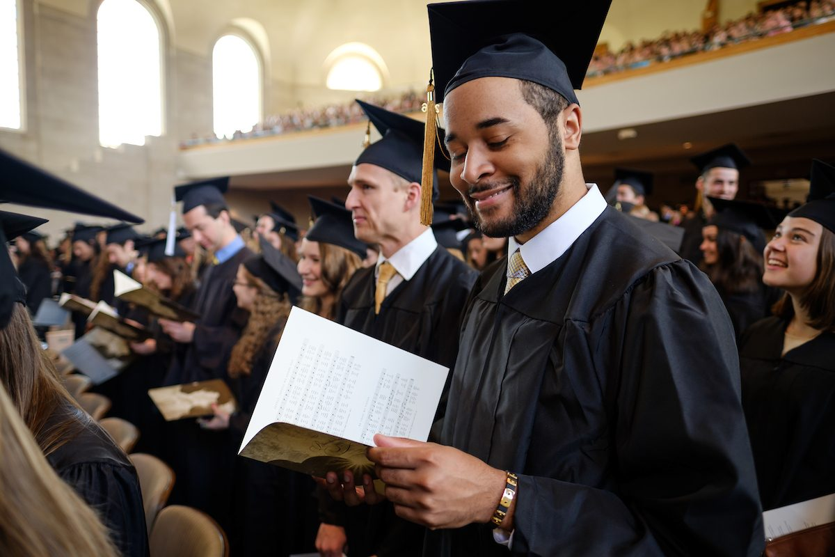 Wake Forest University hosts the Baccalaureate Service for graduates on Sunday, May 15, 2016.