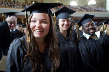 Baccalaureate Service in Wait Chapel