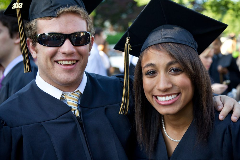 John Collins ('12) and Samantha Howell ('12).