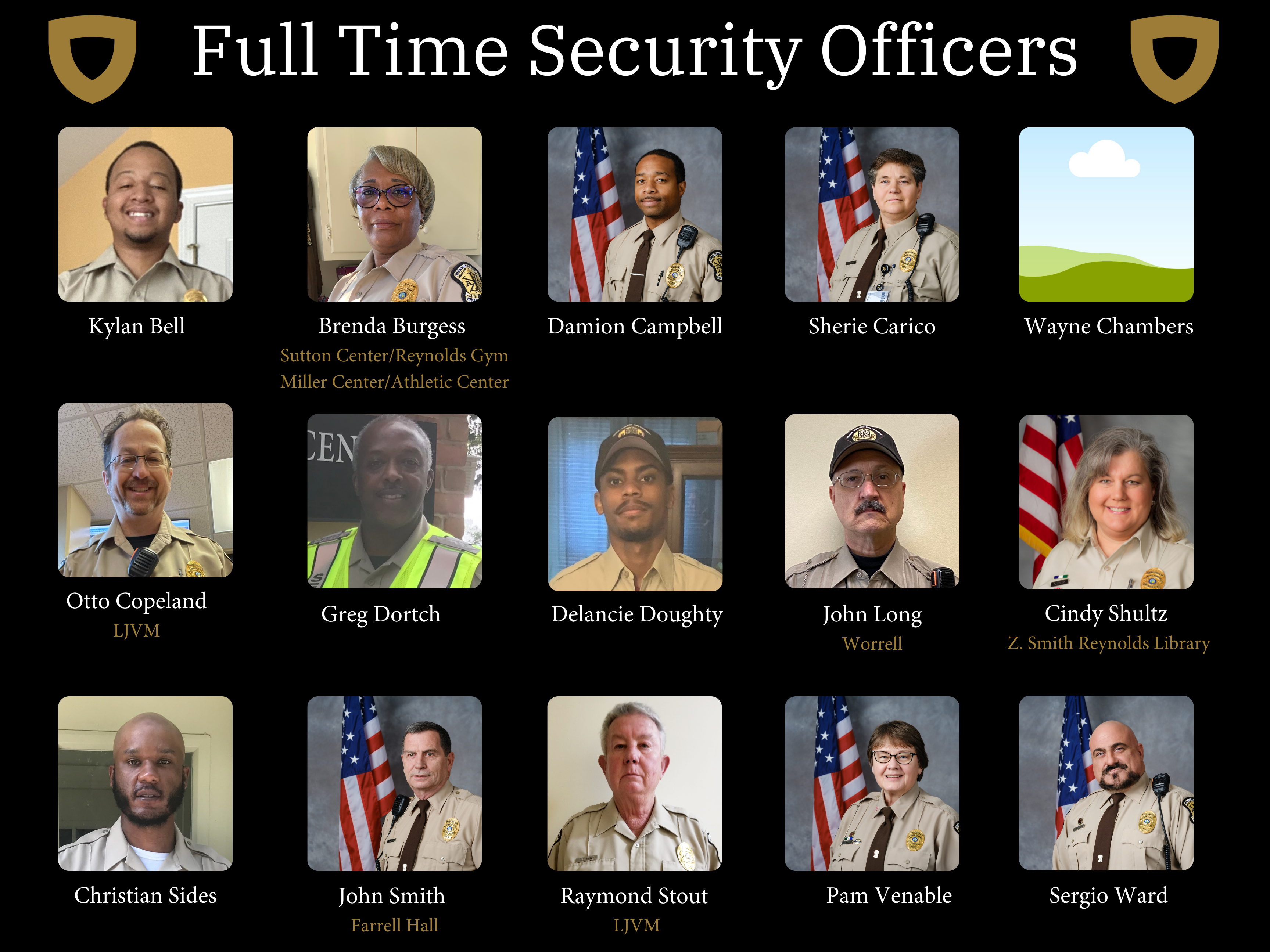Full Time Security Officers