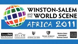 Winston-Salem and the World Scene logo