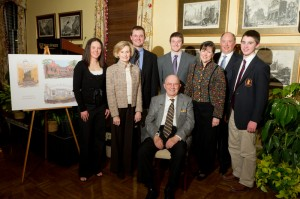 Life Trustee Pete Kulynych and his family.
