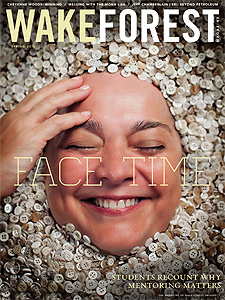 Cover of Wake Forest Magazine