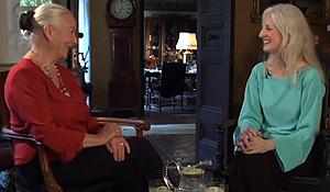 Rosemary Harris and Pamela Howland