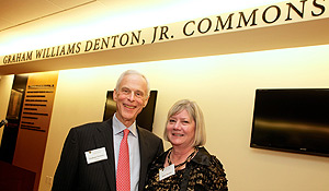 Graham Williams Denton, Jr. and his wife, Anne