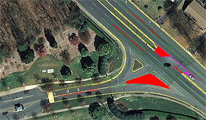 New layout for University Parkway exit