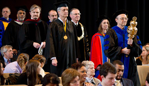 2012 Founders' Day Convocation processional