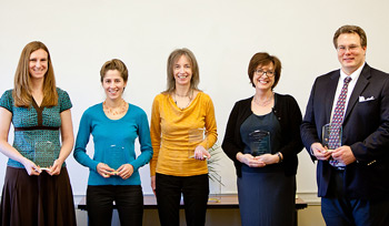 Teaching and Learning Center award winners