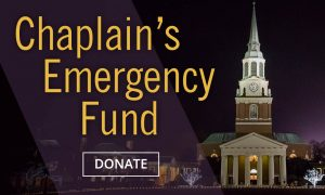 Chaplain's Emergency Fund