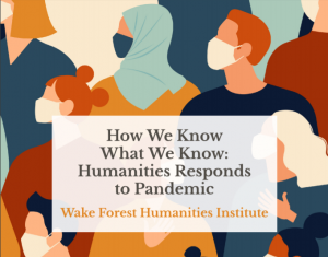 """""""How We Know What We Know"""" publication cover image; illustration of individuals wearing face masks"""