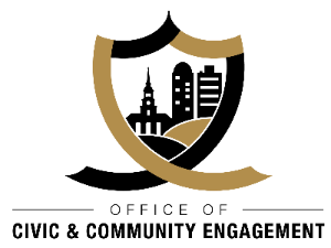 Logo for the Wake Forest University Office of Civic and Community Engagement