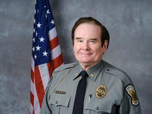 Headshot of Major Ken Overholt
