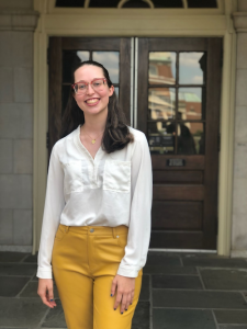 Headshot of Isabella Ryan, 2020-21 Wake Forest Fellow for Information Systems