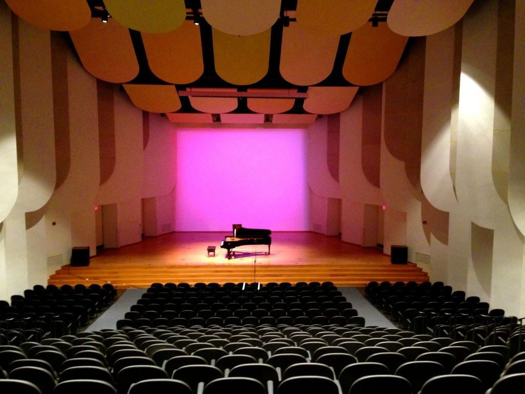 Brendle Recital Hall is a 570 capacity hall located inside of Scales Fine Arts Center.