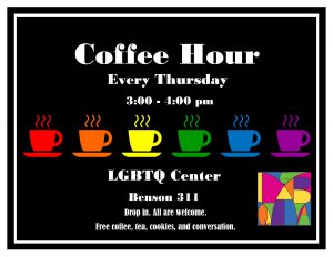 Coffee Hour Fall 2016 Flier
