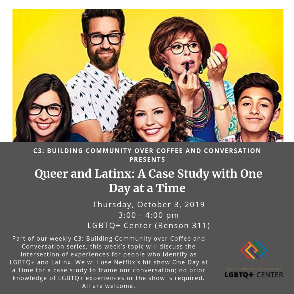 C3 on Queer Latinx experiences featuring One Day at a Time