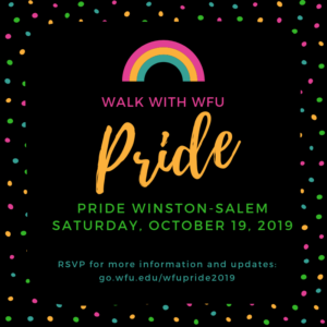 Walk with WFU in Pride parade