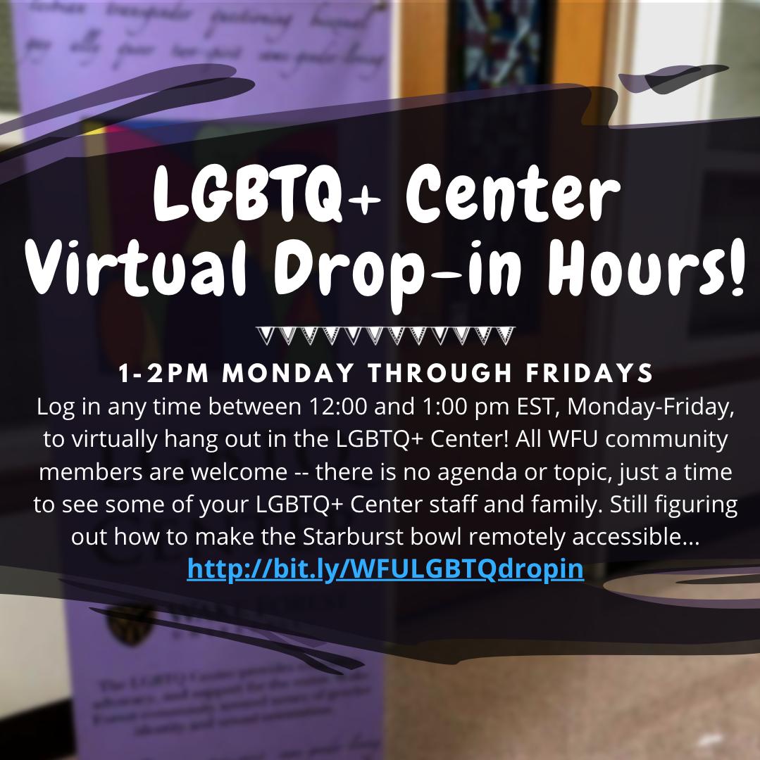 Virtual Drop In Hours