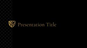 Dark slide template example