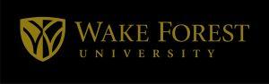 WFU Logo Horizontal Gold