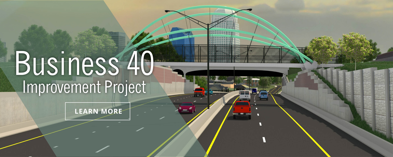 Business 40 Improvement Project Web Banner