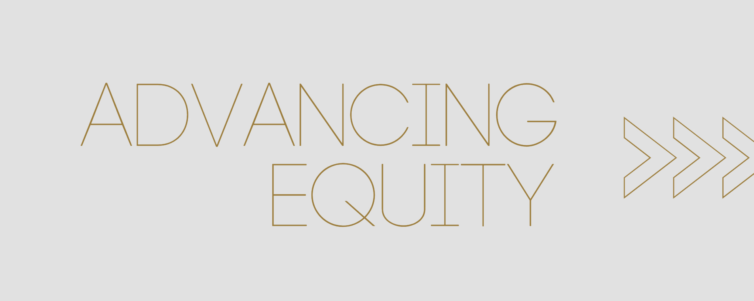 Advancing Equity Banner