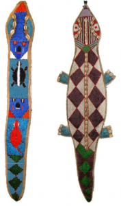 beaded-serpent-and-croc