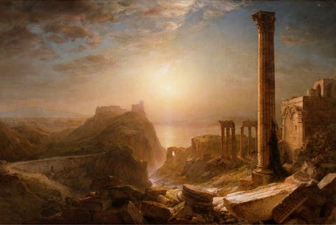 """Syria by the Sea,"" Frederic Edwin Church, 1873."