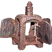 Ethiopian Coptic Prayer Box