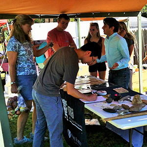 MOA Booth at Bethabara Park Apple Fest