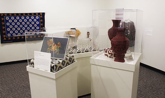Cultures, Contexts, & Collectors exhibit