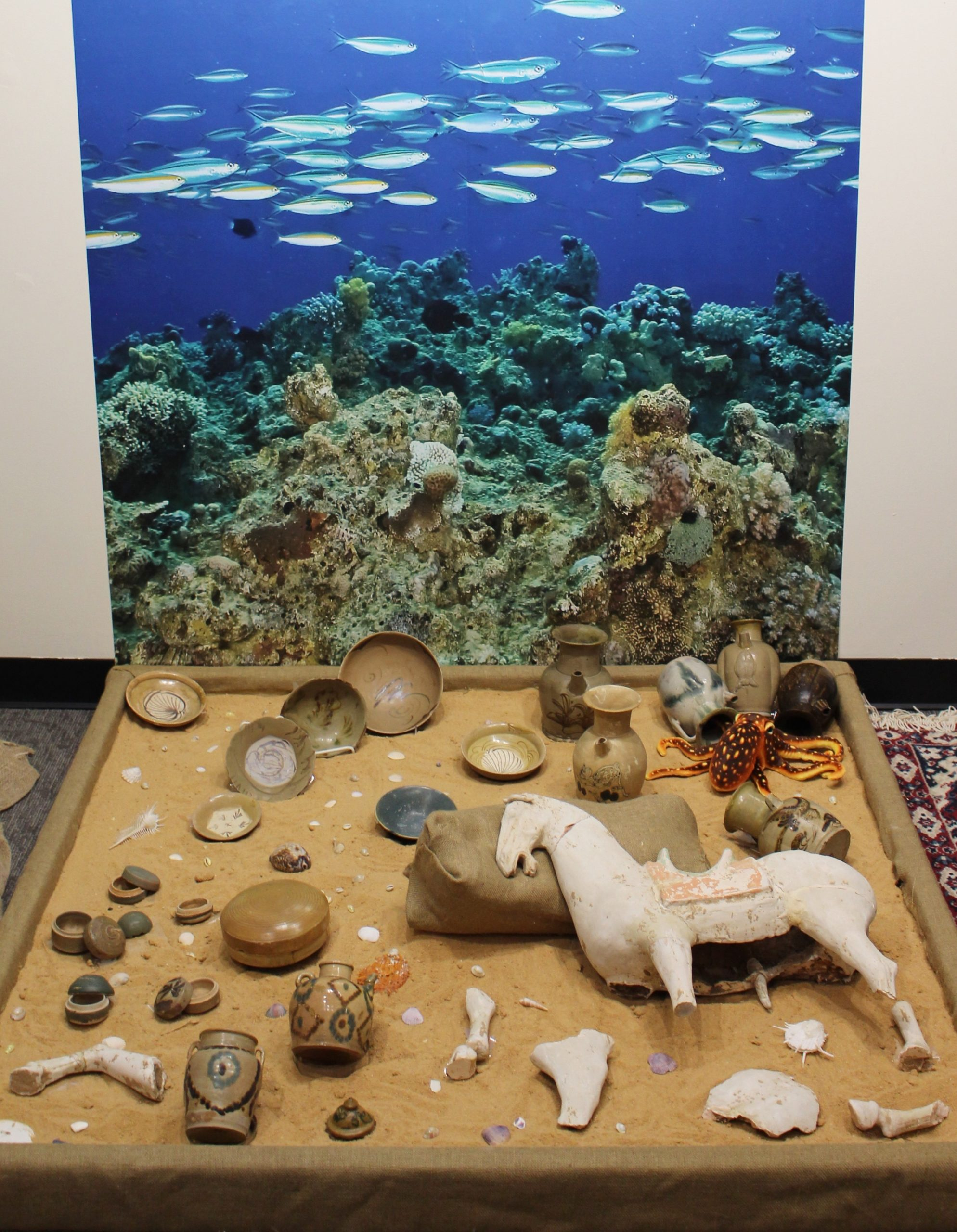 Belitung shipwreck model