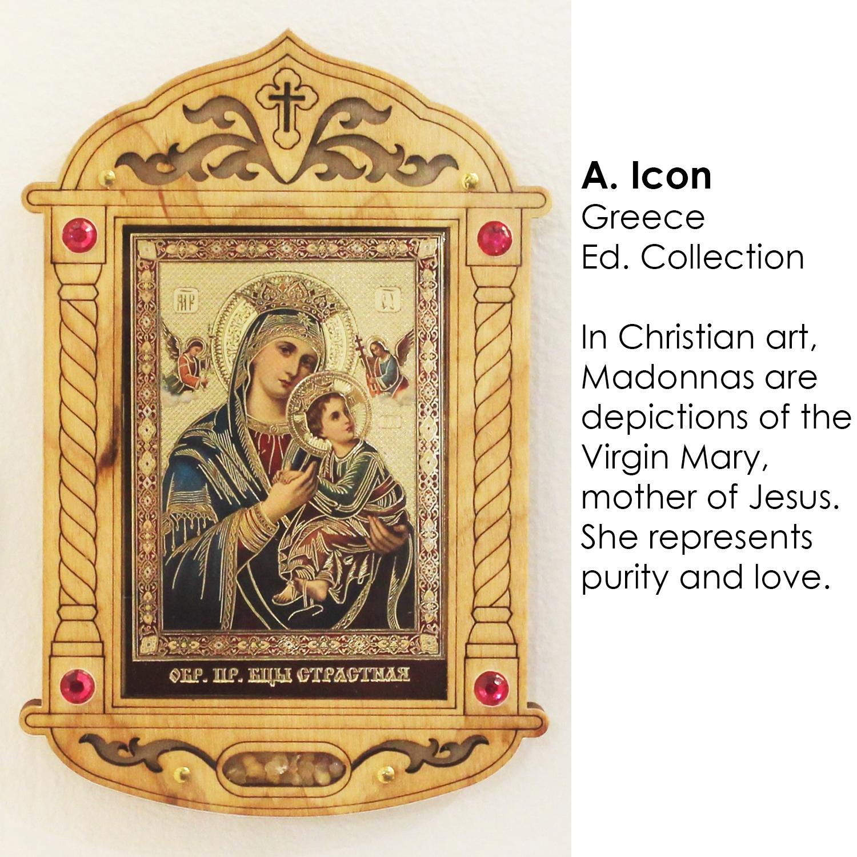 Greek Virgin Mary Icon