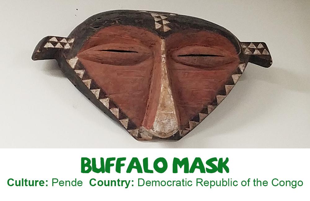 Pende Buffalo Mask