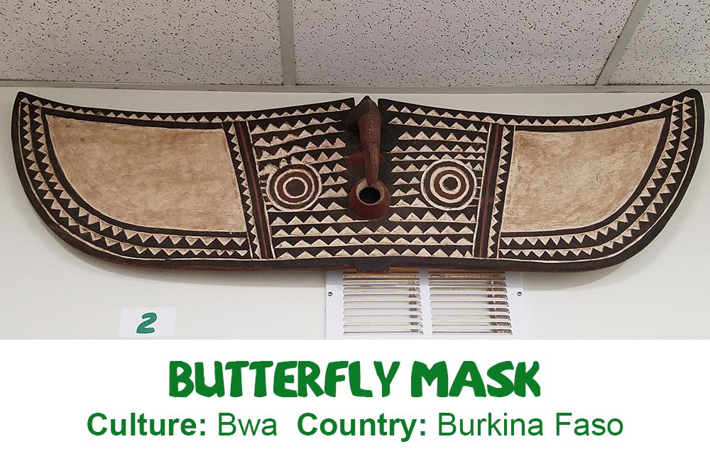 Bwa Butterfly Mask