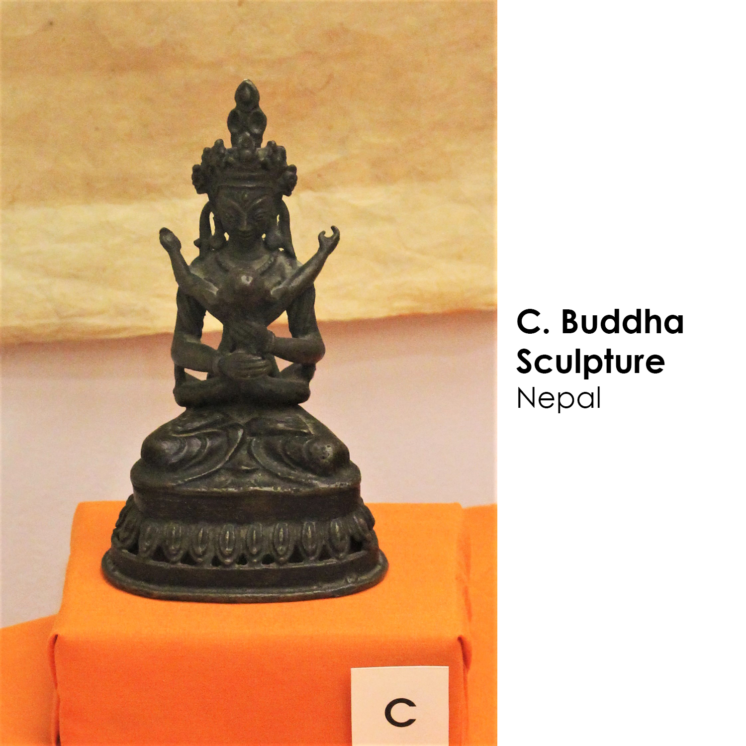 Buddha Sculpture from Nepal