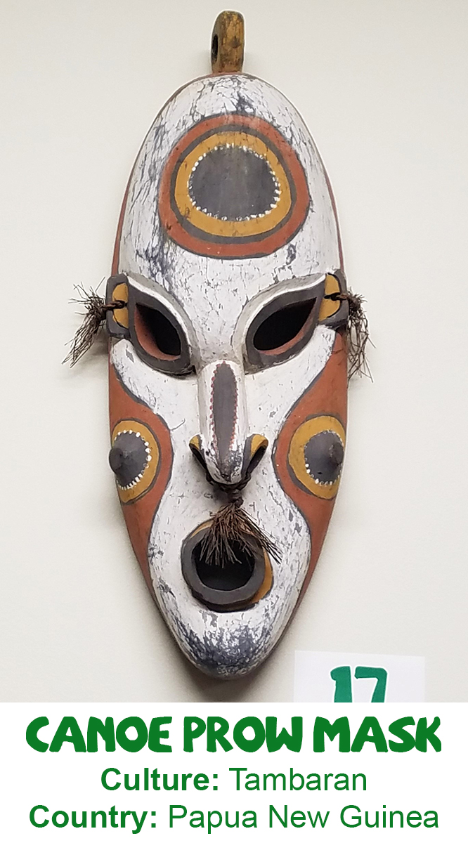 Tambaran Canoe Prow Mask