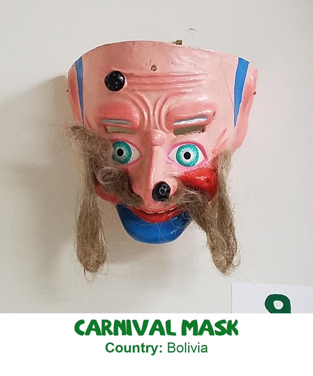 Bolivian Carnival Mask