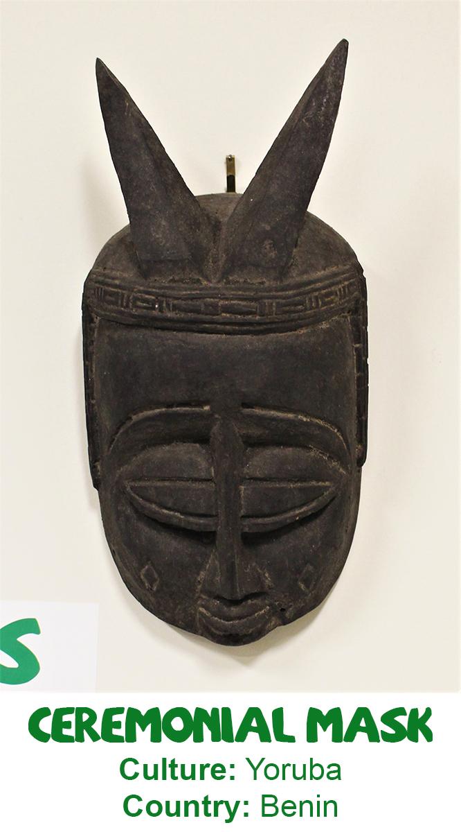 Yoruba Ceremonial Mask