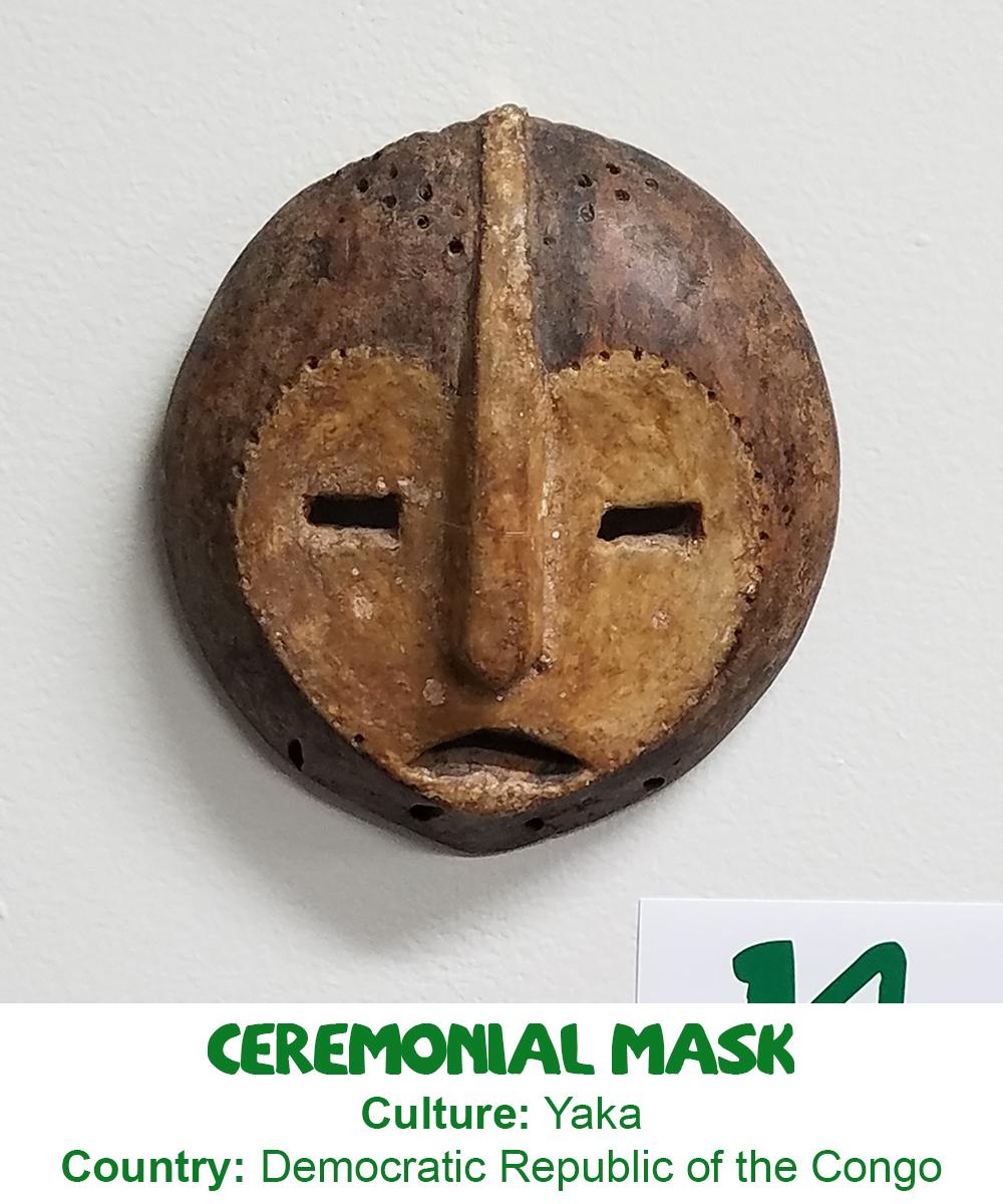 Yaka Ceremonial Mask