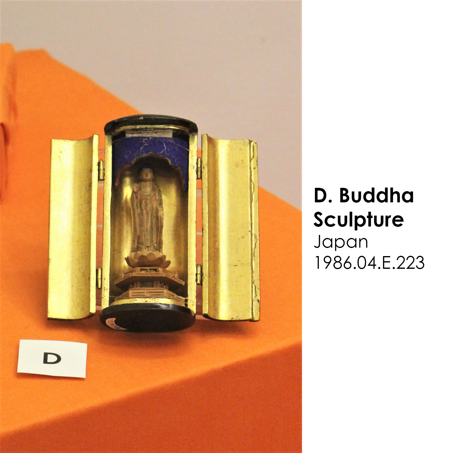 Buddha sculpture from Japan