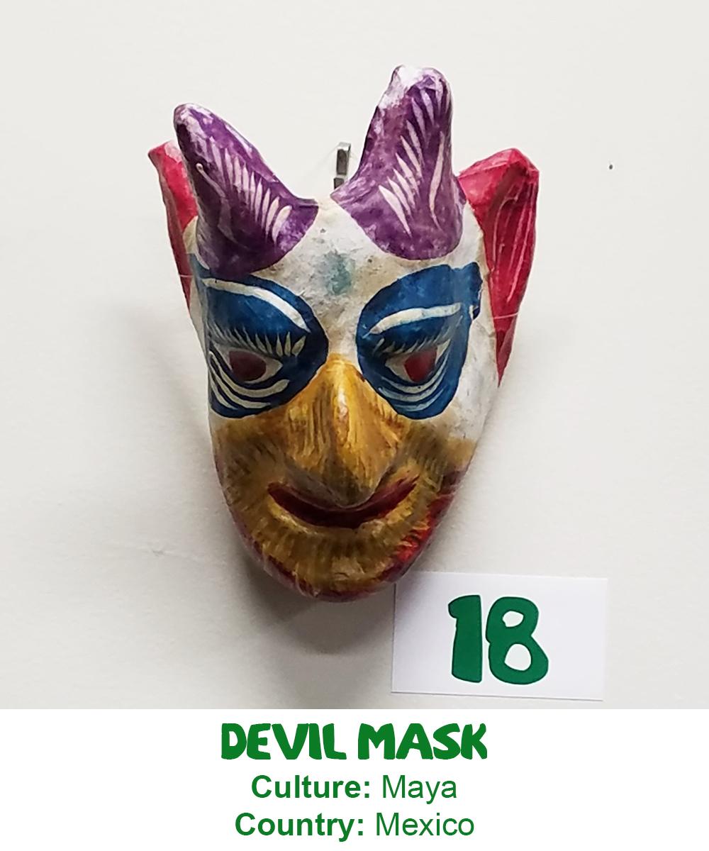 Maya Devil Mask